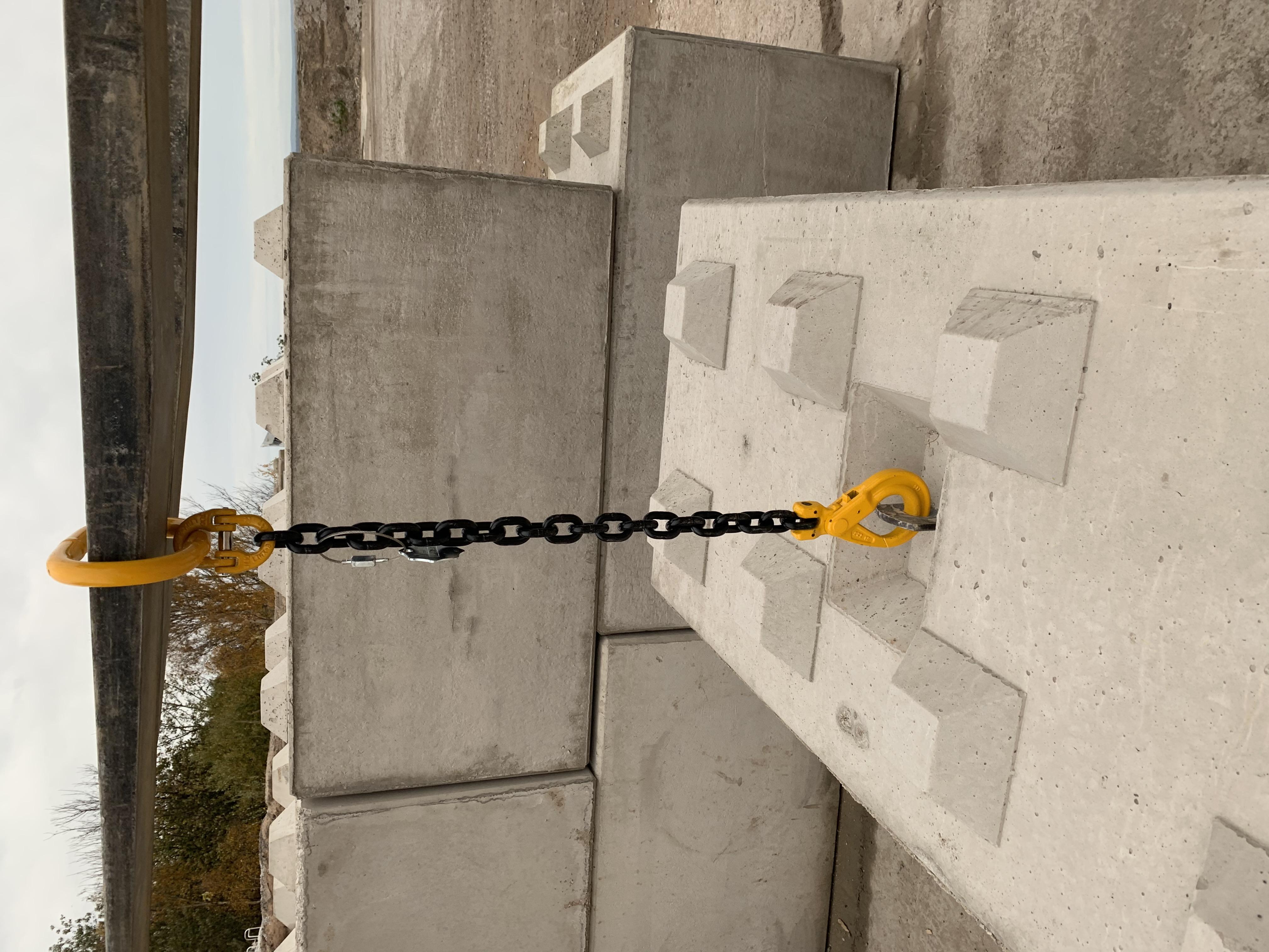 Concrete Lego Block 1